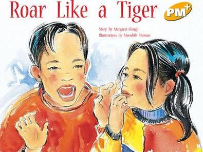 Roar Like a Tiger PM PLUS Level 8 Yellow