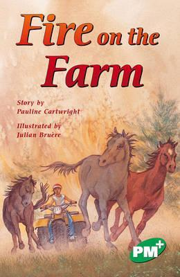 Fire on the Farm PM PLUS Chapter Books Level 25 Set A Emerald