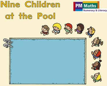 Nine Children at the Pool