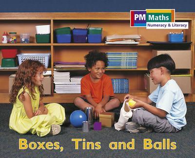 PM Maths Stage B Boxes Tin and Balls