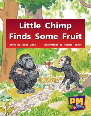 Little Chimp Finds Some Fruit