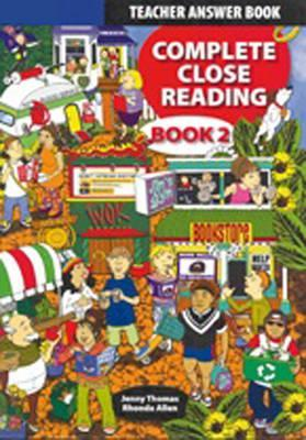 Complete Close Reading 2 Teachers Book