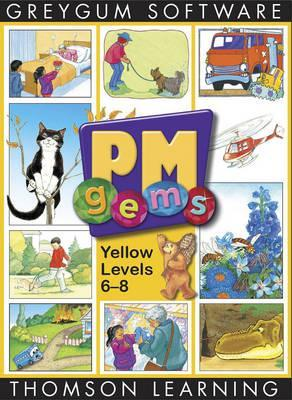 PM Gems Yellow Level 6-8 Software 12 Titles Single User CD