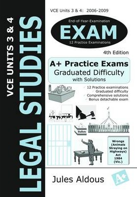 Legal Studies Exam VCE Units 3 and 4