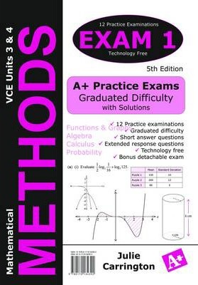 Maths Methods VCE Exam 1 Units 3 and 4