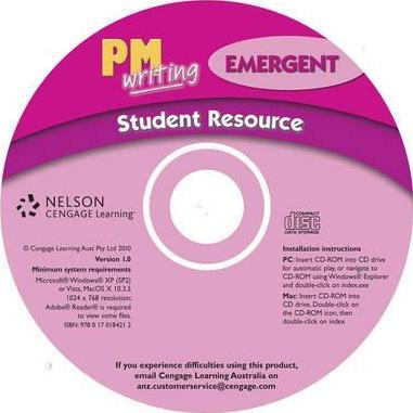 PM Writing Emergent Student Resource