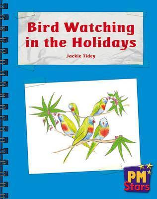 Bird Watching in the Holidays PM Stars Blue Non Fiction