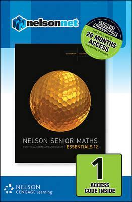 Nelson Senior Maths Essentials 12 for the Australian Curriculum (1