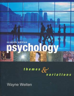 Psyktrek 2.0 + Psychology Themes and Variations + 1Pass Access Card With Now Info-Psychology + Writing for Psychology with Infotrac + Place, Connection, Relationship