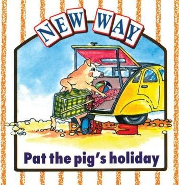 New Way White Level 1 - Pat the Pig's Holiday