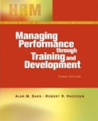 Managing Performance Training