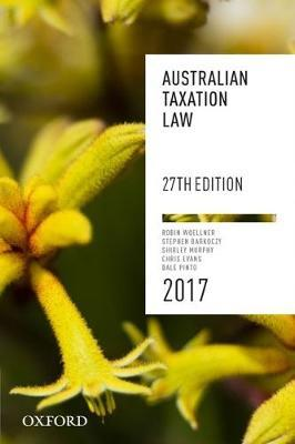 Australian Taxation Law 2017 27th edition
