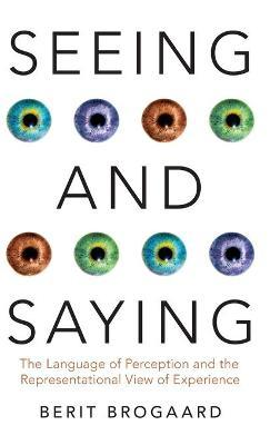 Seeing and Saying