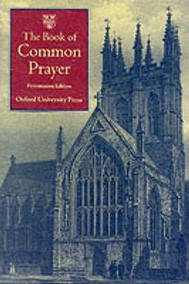 The Book of Common Prayer: Presentation Edition