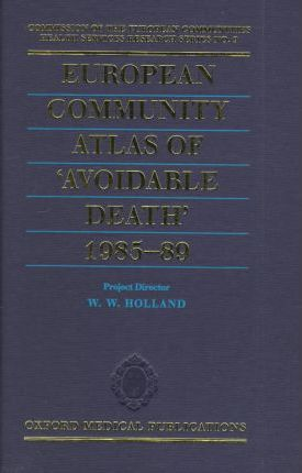European Community Atlas of Avoidable Death: 1985-1989 v.3