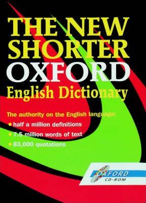 The New Shorter Oxford English Dictionary: Windows