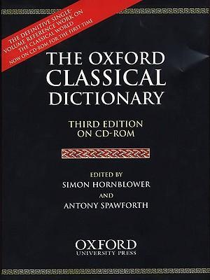 The Oxford Classical Dictionary: CD-Rom