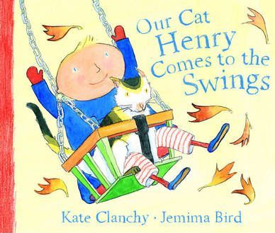 Our Cat Henry Comes to the Swings