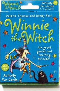 Winnie the Witch Activity Fun Cards