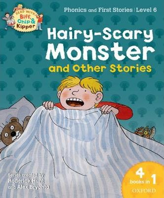 Oxford Reading Tree Read With Biff, Chip, and Kipper: Hairy-scary Monster & Other Stories