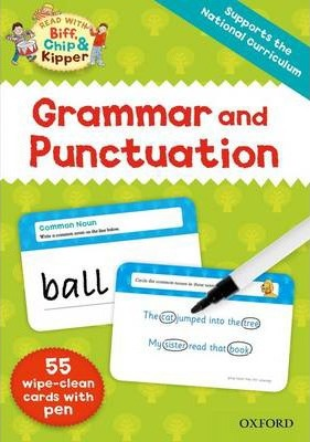 Oxford Reading Tree Read with Biff, Chip and Kipper: Grammar and Punctuation Flashcards