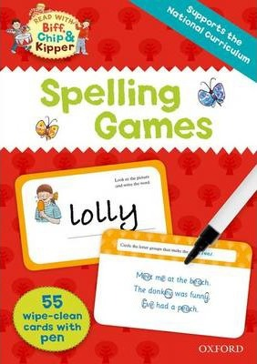 Oxford Reading Tree Read with Biff, Chip and Kipper: Spelling Games Flashcards
