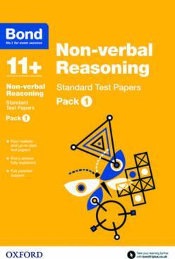 Bond 11+: Non-verbal Reasoning: Standard Test Papers