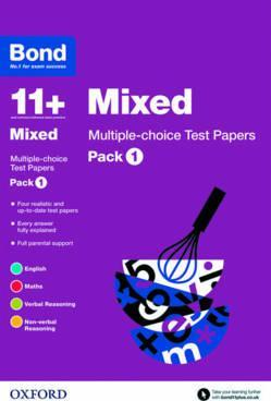Bond 11+: Mixed: Multiple-choice Test Papers