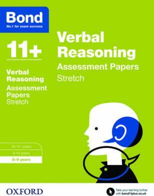 Bond 11+: Verbal Reasoning: Stretch Papers