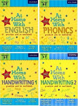 At Home with Phonics and English Skills Pack (Ages 5-7)