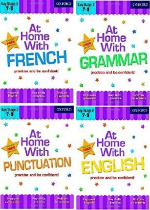 At Home with Language Skills Pack (Ages 7-9)