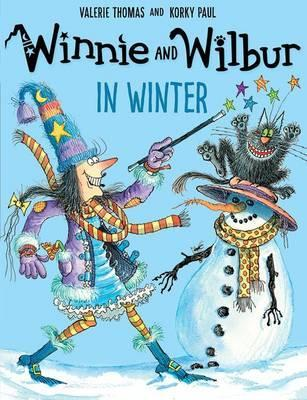 Winnie and Wilbur in Winter and audio CD