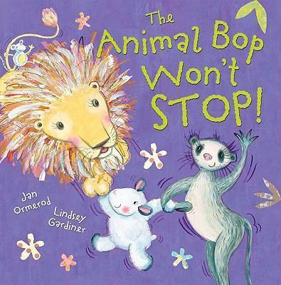 The Animal Bop Won't Stop with audio CD