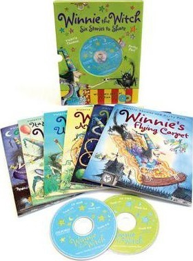 Winnie the Witch 6 Stories to Share & 2 audio CDs