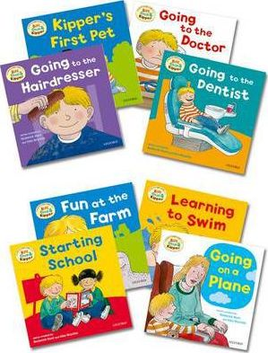 Oxford Reading Tree: Biff, Chip & Kipper First Experiences Pack of 8