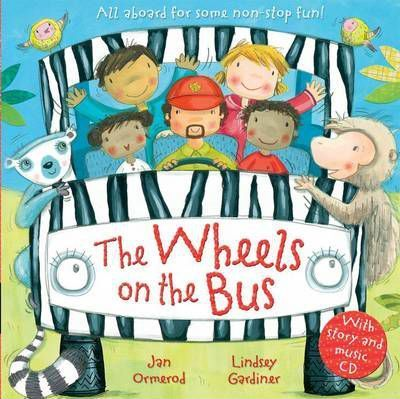 The Wheels on the Bus with Audio-CD