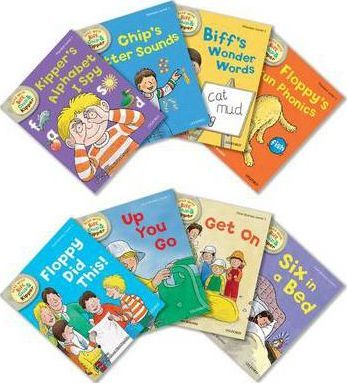 Oxford Reading Tree Read With Biff, Chip, and Kipper Level 1 Pack of 8