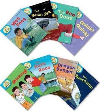 Oxford Reading Tree Read With Biff, Chip, and Kipper: Level 4: Pack of 8