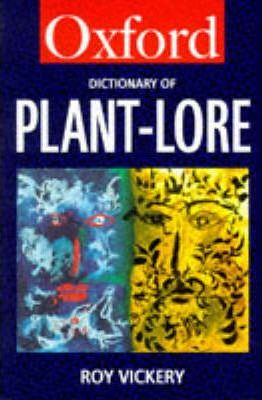 A Dictionary of Plant-Lore
