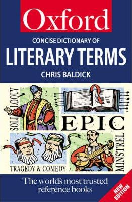 A Concise Oxford Dictionary of Literary Terms