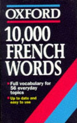 10, 000 French Words