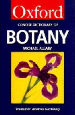 The Concise Oxford Dictionary of Botany