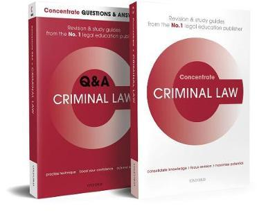 Criminal Law Revision Concentrate Pack