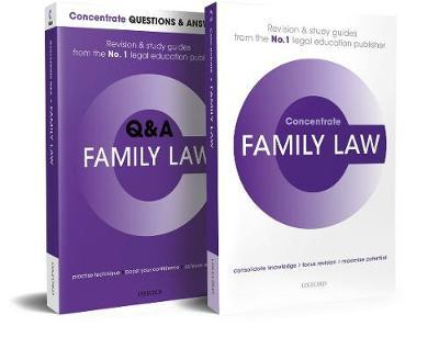 Family Law Revision Concentrate Pack