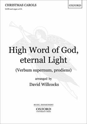 High Word of God, eternal Light (Verbum supernum, prodiens)