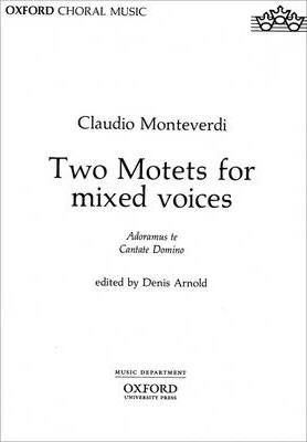 Two Motets for mixed voices
