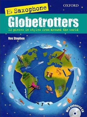 Saxophone Globetrotters, E flat edition + CD