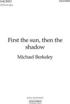 First the sun, then the shadow