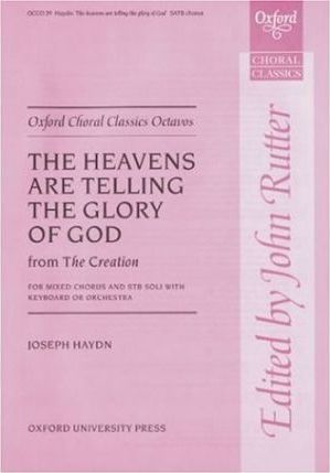 The heavens are telling (from The Creation)