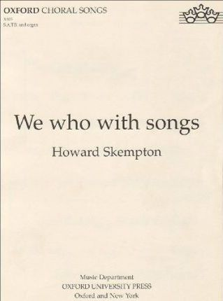 We who with songs